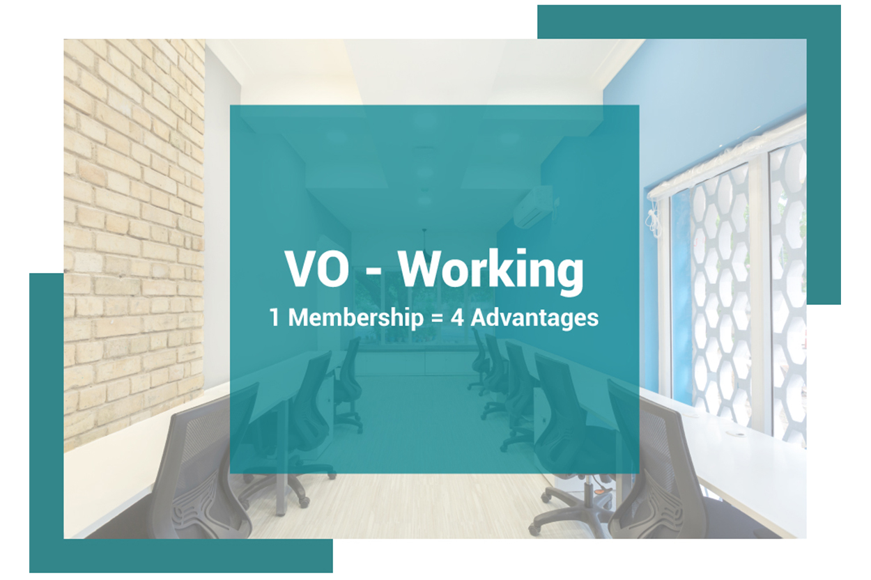 VO working membership of Cove coworking office in Chennai